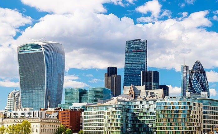 La skyline de Londres