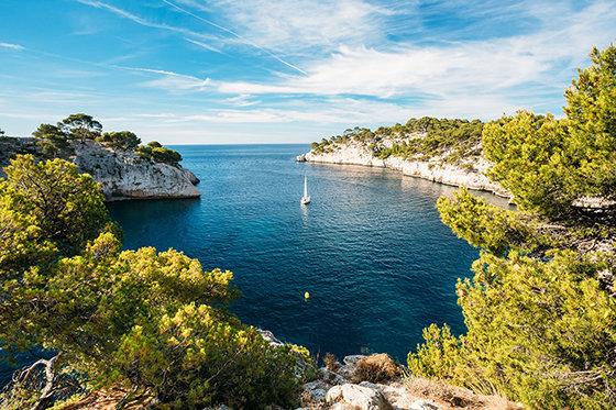 Les calanques à Marseille