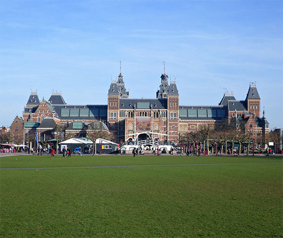 Rijksmuseum en Museumplein, Amsterdam