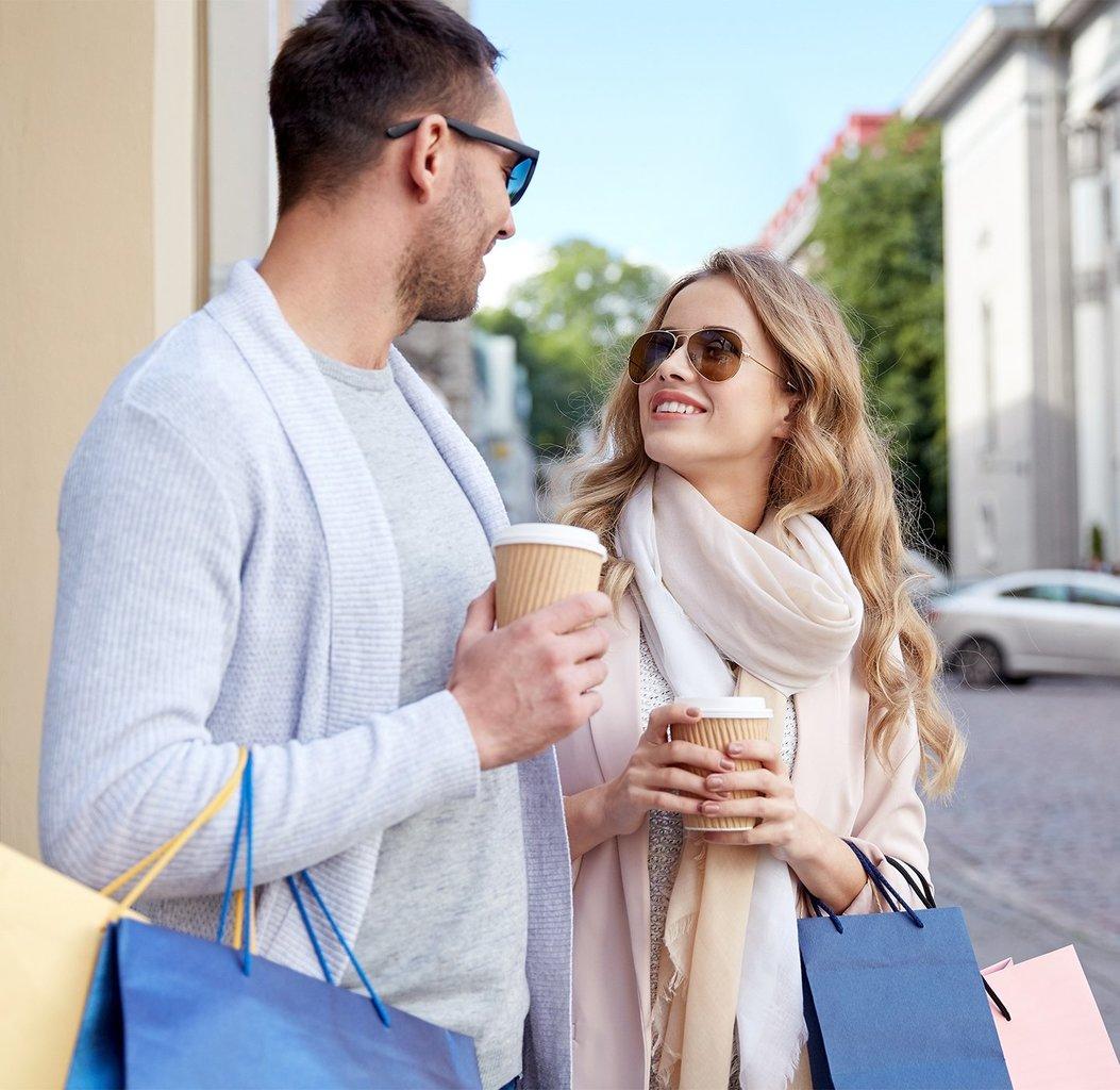 Shopping in Keulen