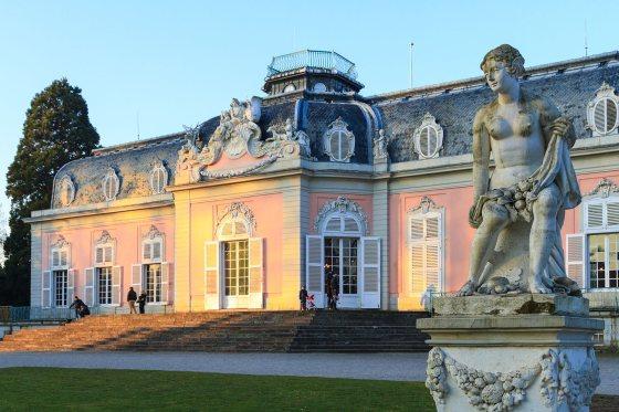 Benrath Palace in Düsseldorf