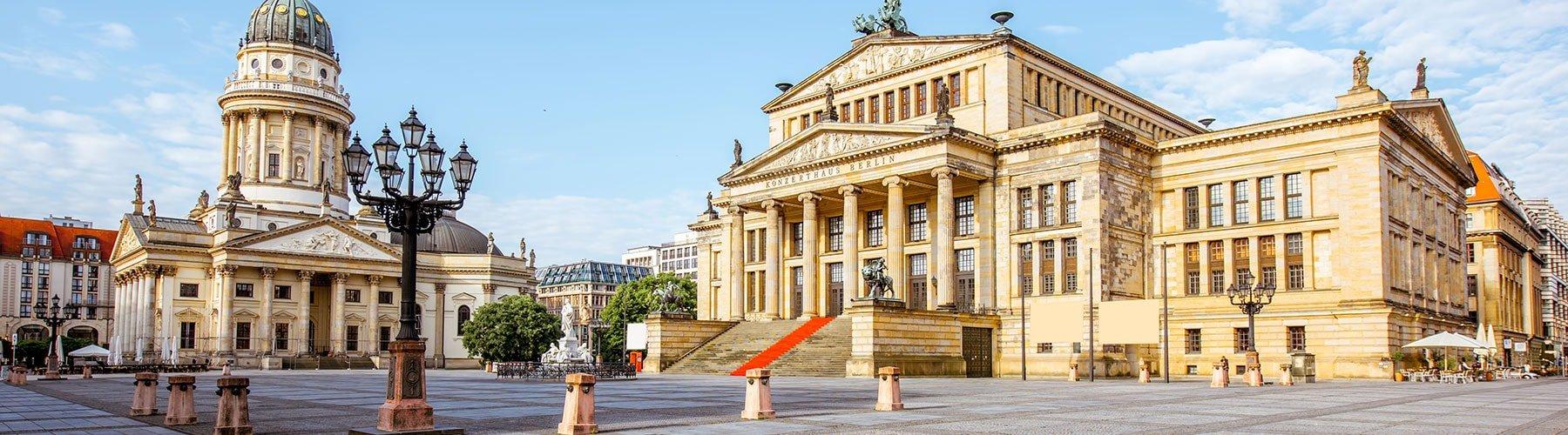 La place du Gendarmenmarkt à Berlin