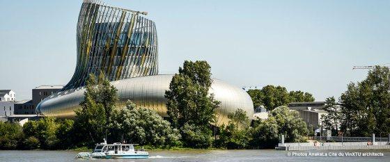 Cité du vin © Photos AnakaLa Cité du VinXTU architects