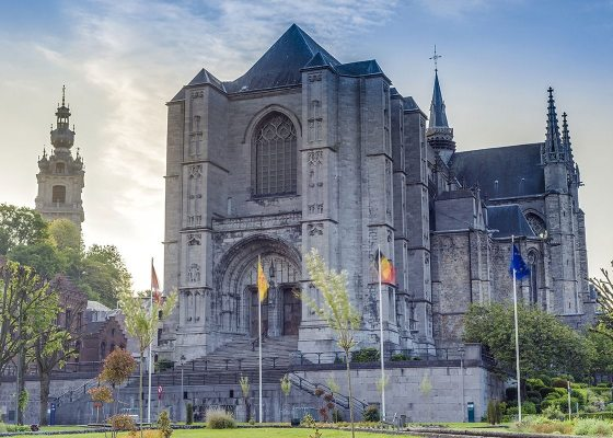 La Collégiale Sainte-Waudru, Mons.