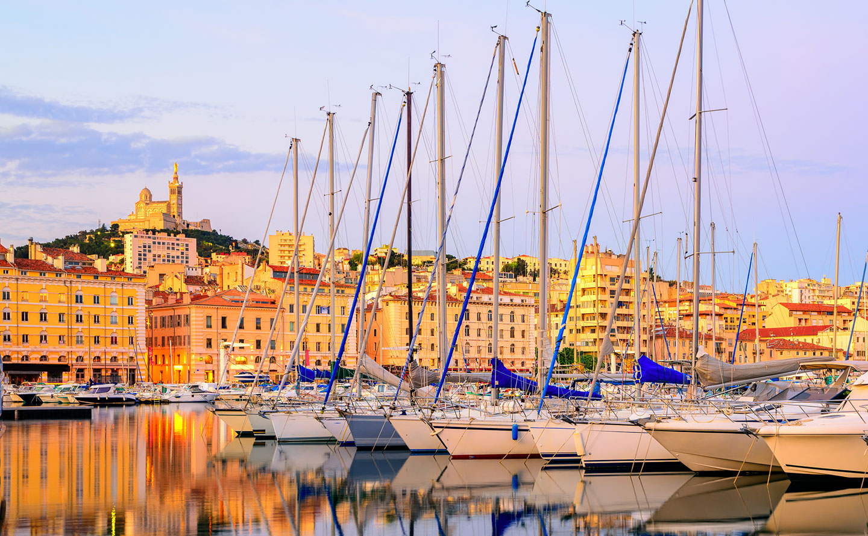 Marseille - old port