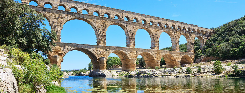 Pont du Gard - Nîmes - Uzès