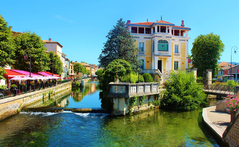 Les 5 villes et villages les plus agr ables de provence - La table d or entraigues sur la sorgue ...