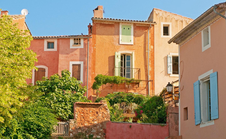 Couleurs Facades En Provence provence's most picturesque towns and villages