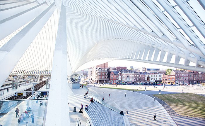Liège-Guillemins train station