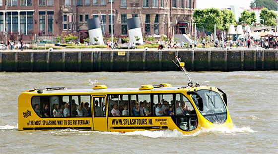 Splashtours sightseeing in Rotterdam