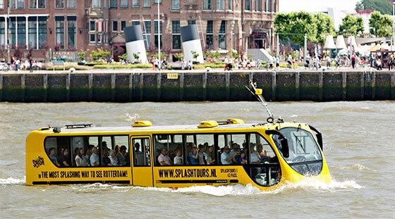 Visite de Rotterdam avec Splashtours