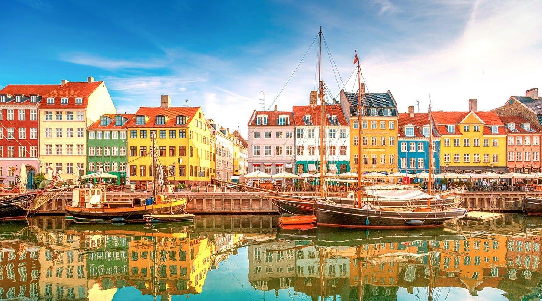 Der Hafen von Kopenhagen