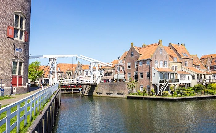 Enkhuizen in the Netherlands