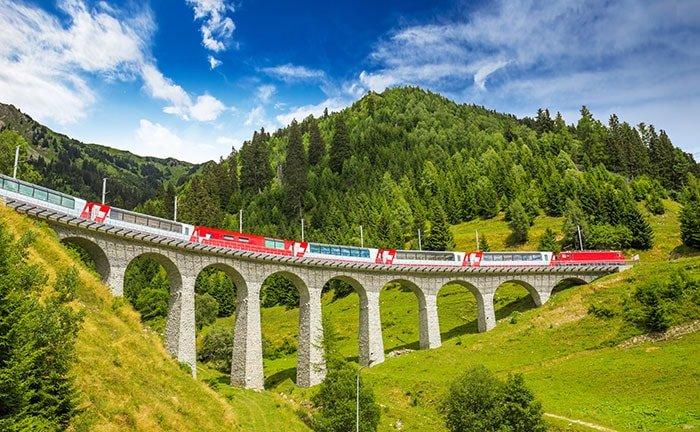 10 redenen om met de trein te reizen
