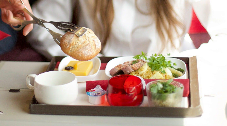 Repas à bord de Thalys