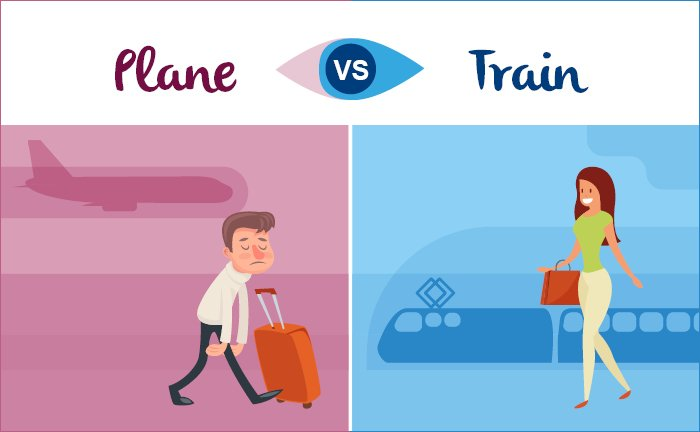 Avion vs. train
