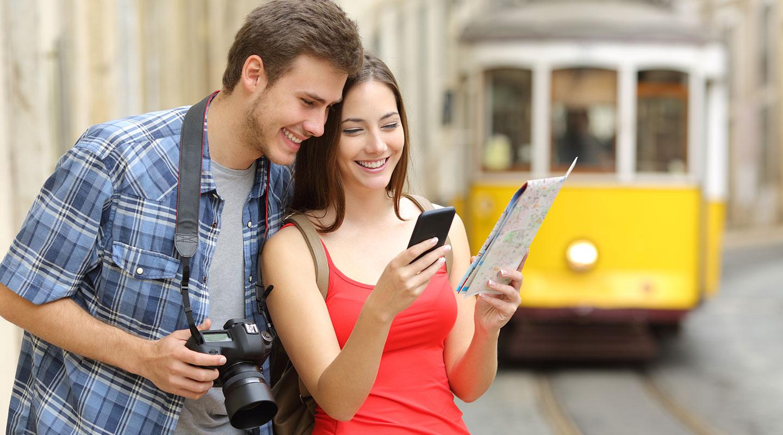 Apps voor uw reis