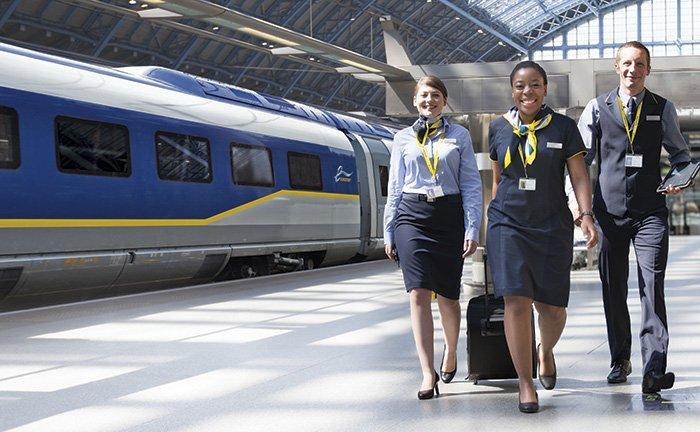 Eurostar staff