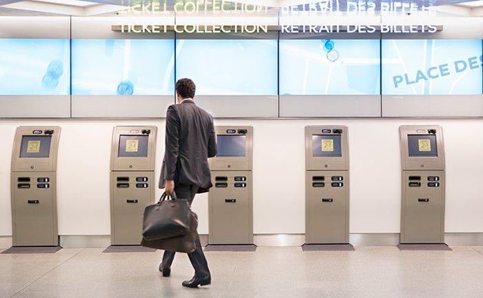 Eurostar check-in