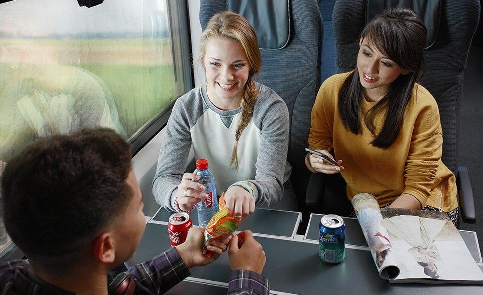 Eurostar Reisende