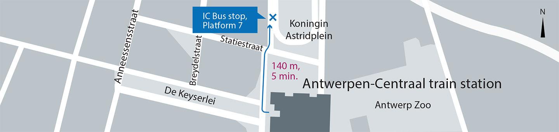 Antwerpen-Centraal train station