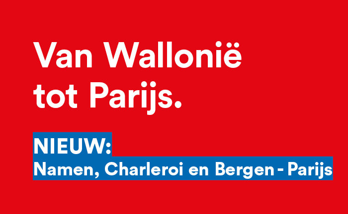 Nieuwe verbinding Wallonië-Parijs via Maubeuge en Aulnoye