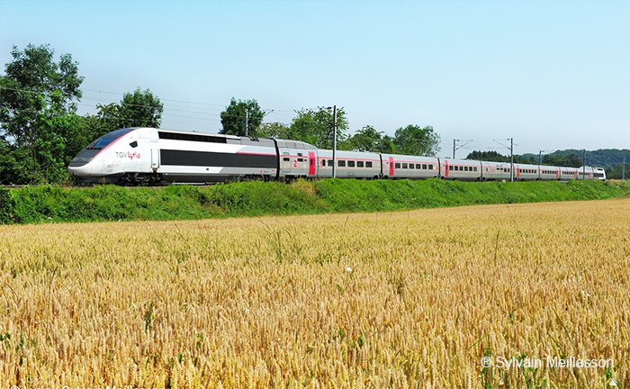 TGV Lyria trein