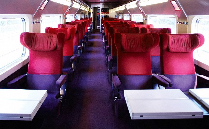Seating plan Thalys