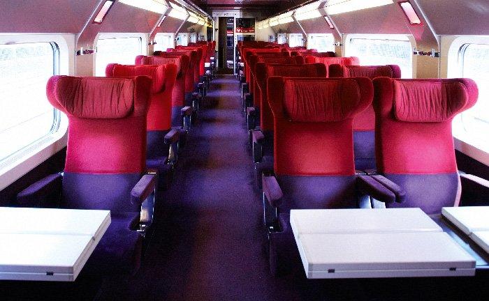Plan des voitures Thalys