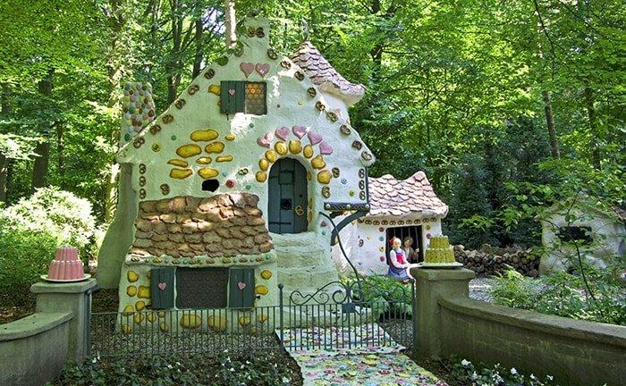 Efteling park bij Tilburg, Nederland