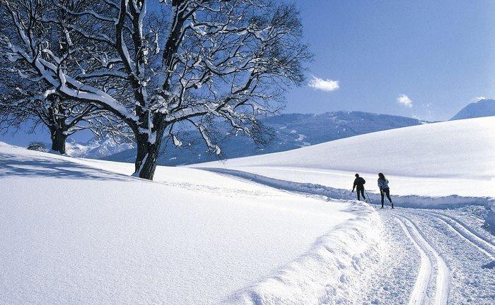 Vacances à la neige en train