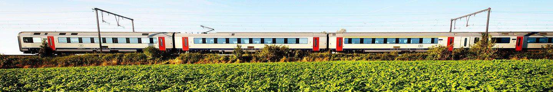 Belgischer InterCity Zug