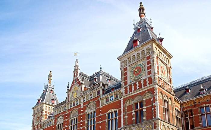 Amsterdam Centraal train station