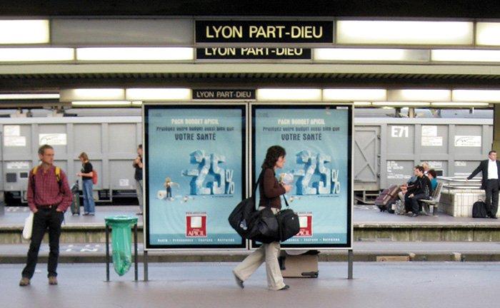 Lyon Part-Dieu station