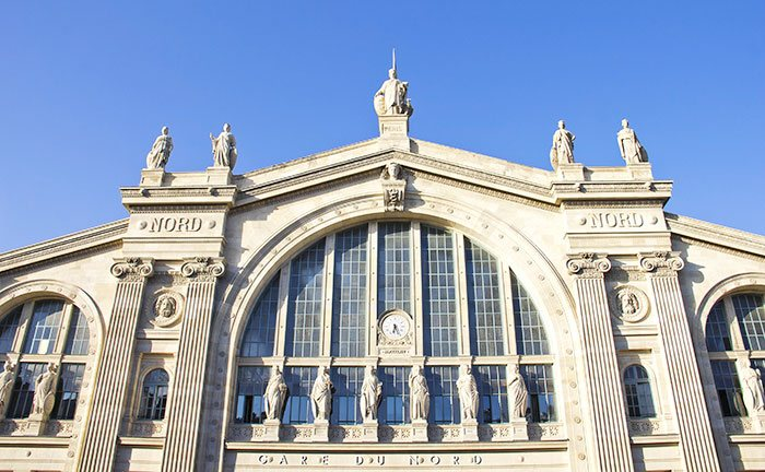 Paris Nord train station