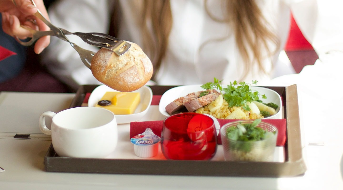 Meal on board Thalys