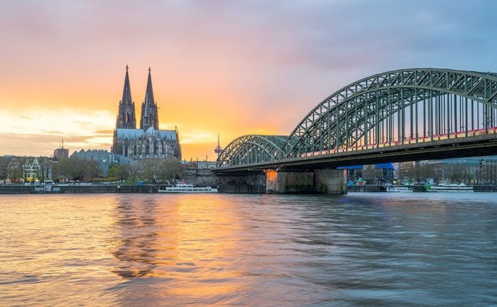 Cologne in winter