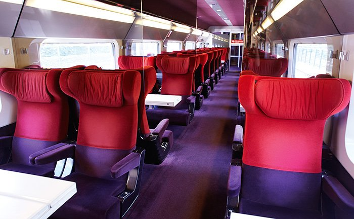Weekend Comfort 1 Thalys